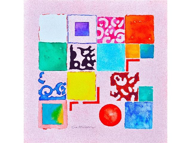 Rosa kvadrat II